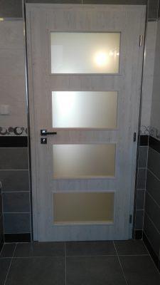 Dveře Porta Fit + OKZ Renova – Těškov
