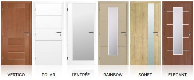 Vybrané modely dveří Solodoor